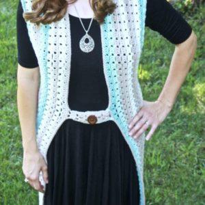 Crochet Duster Vest