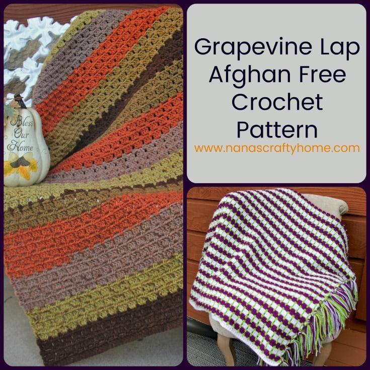 Grapevine Crochet Lap Afghan