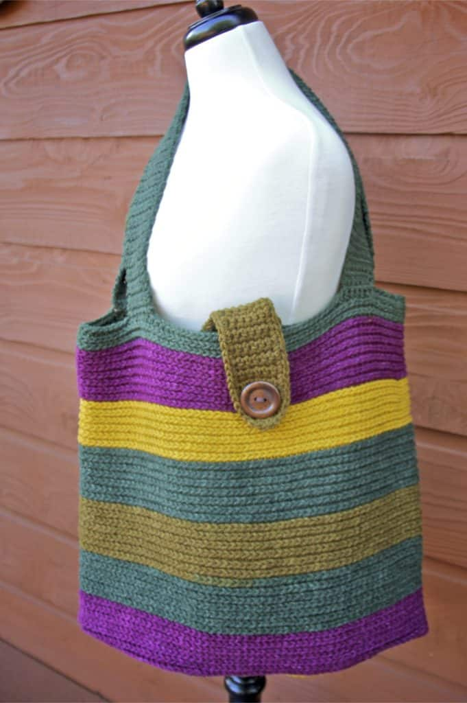 Carry Me Away Tote Bag Free Crochet Pattern With Video