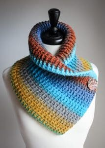 Sassy Autumn Cowl free crochet pattern