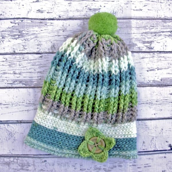Alpine Ridges Crochet Hat