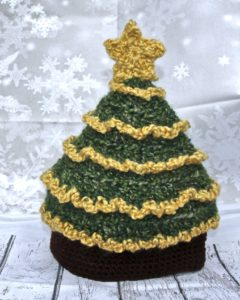 Christmas Tree hat pattern