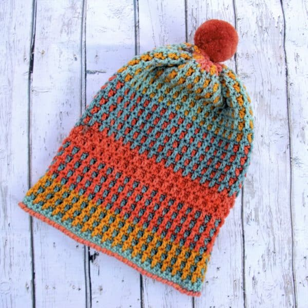 Just Peachy Crochet free hat pattern