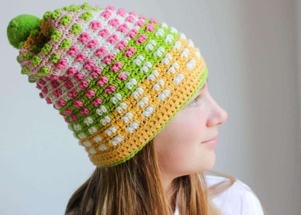 Free Crochet Hat Caron Cupcakes