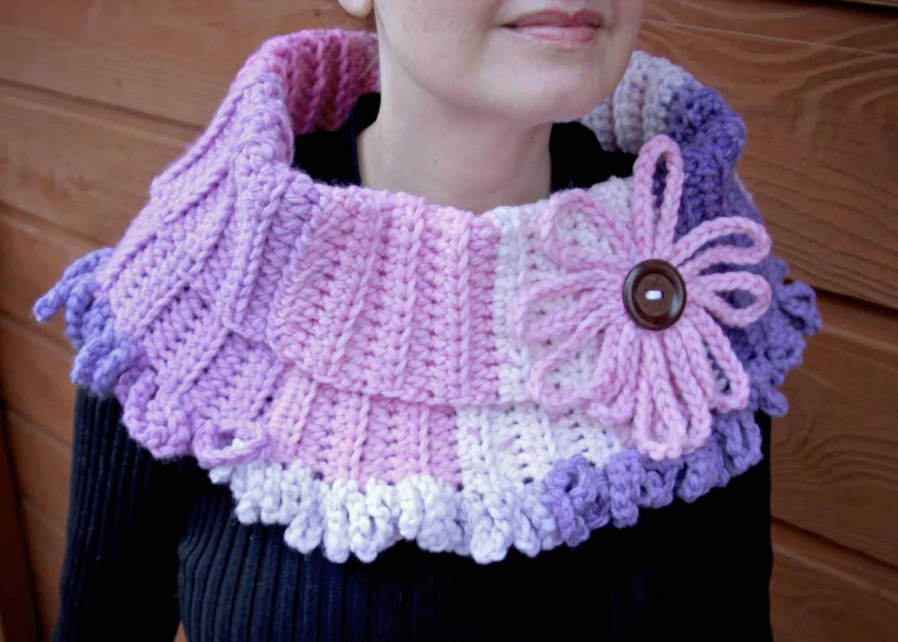 Beginner Chunky Crochet Cowl Cowl Free Crochet Pattern