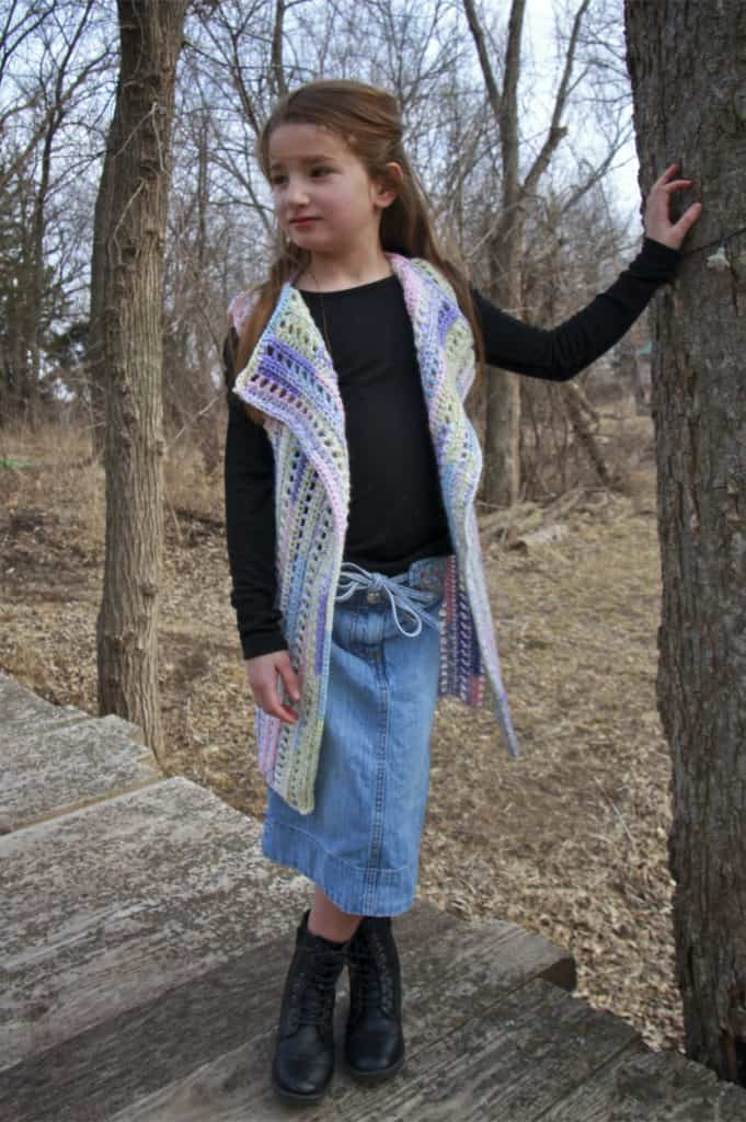 Brandywine Falls Vest Child Size 6/8