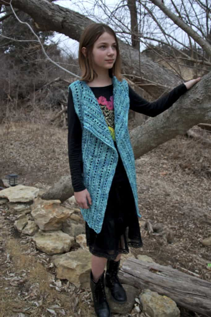 Brandywine Falls Vest Child Size 10/12