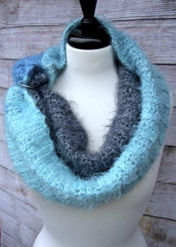 Mod Scarf free crochet pattern