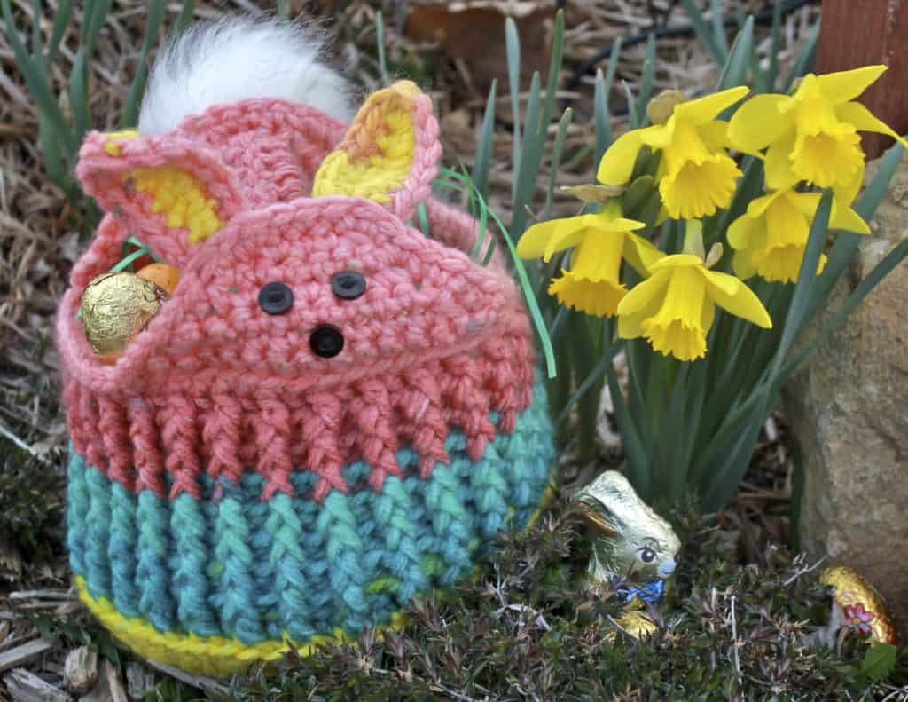 Cute Easter Basket crochet pattern