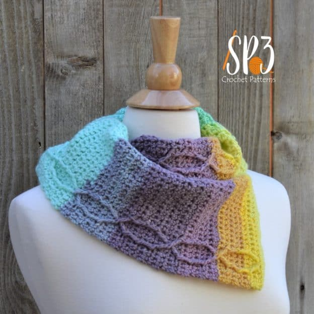 The Perfect Spring Cowl by Sweet Potato 3