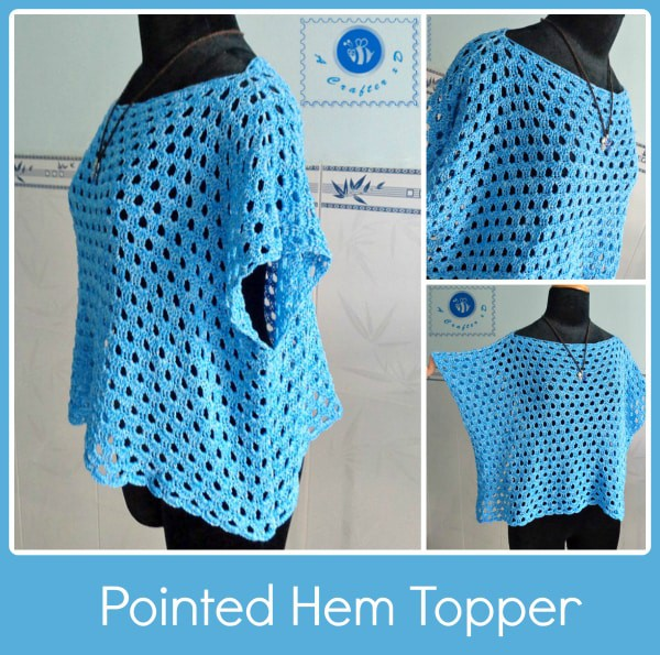 Pointed Hem Topper by Be a Crafter