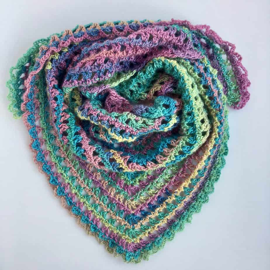 Candy Kisses Scarf square