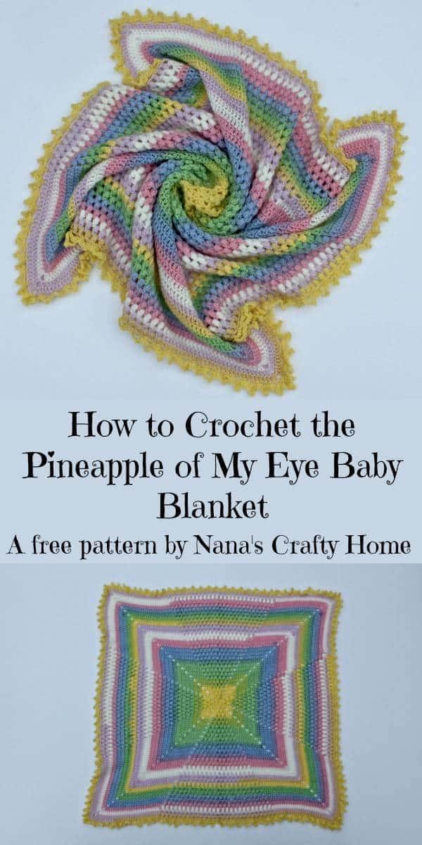 Pineapple of My Eye Complete Video Tutorial a free crochet pattern