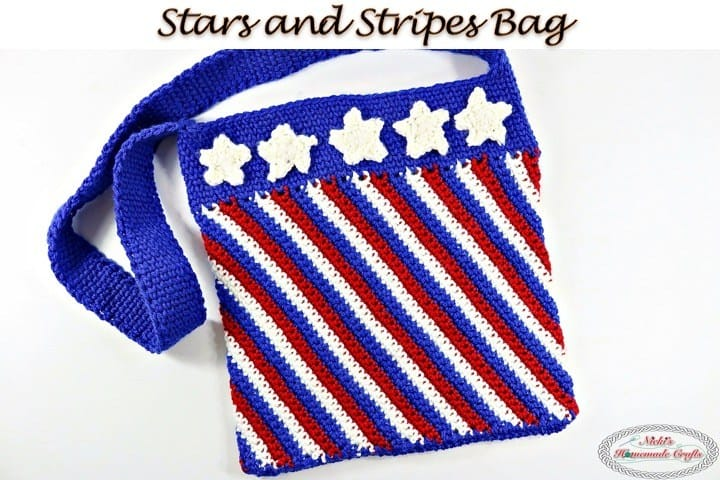 Stars and Stripes Bag by Nicki's Homemade Crafts