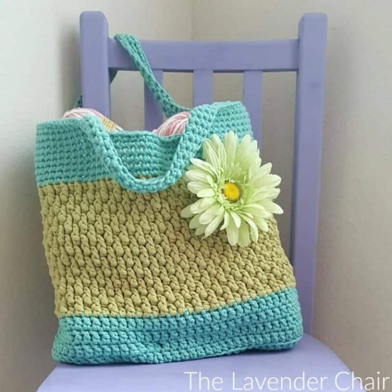 Brickwork Beach Bag by The Lavender Chair