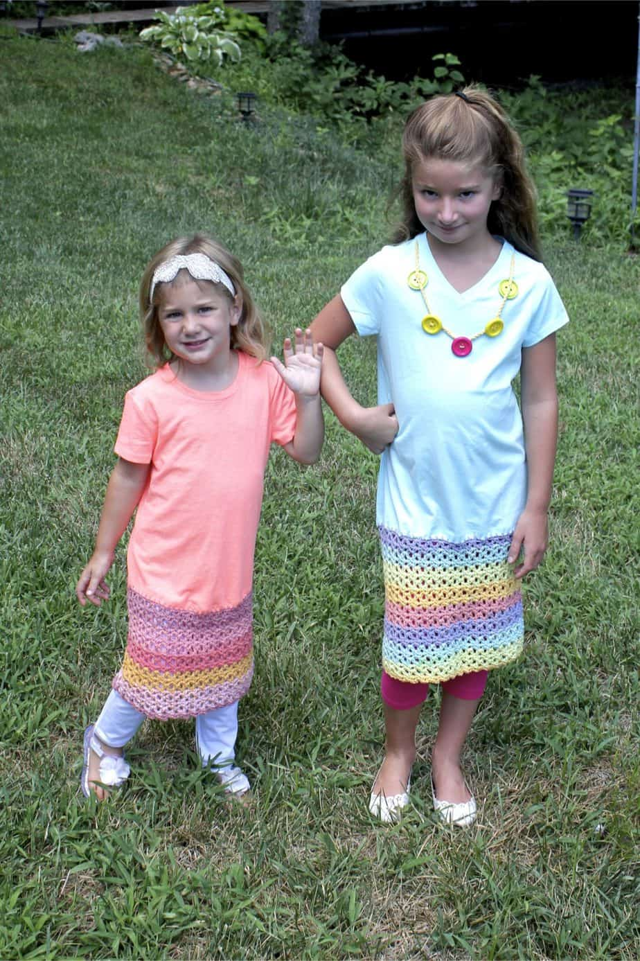 Pretty Play Date Dress Free Crochet Pattern