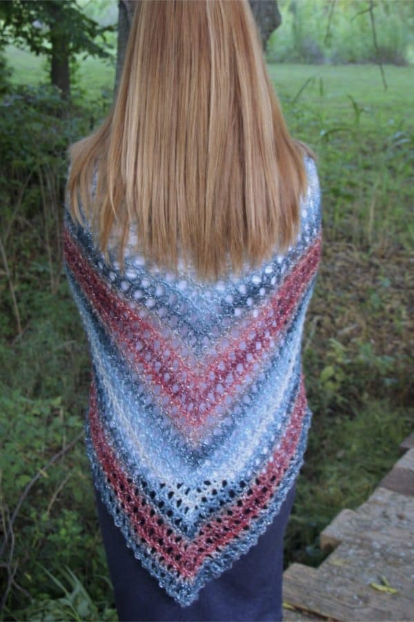 Midnight Madness Poncho a free crochet pattern