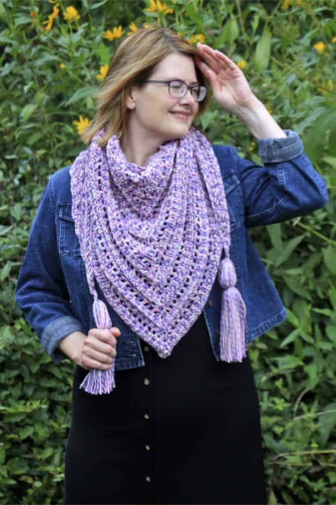 So Long Summer Scarf Free Crochet Pattern