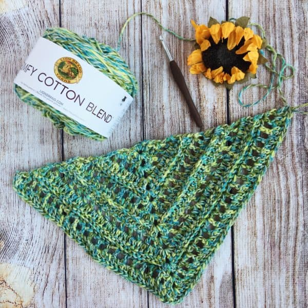 So Long Summer Scarf free crochet pattern video tutorial