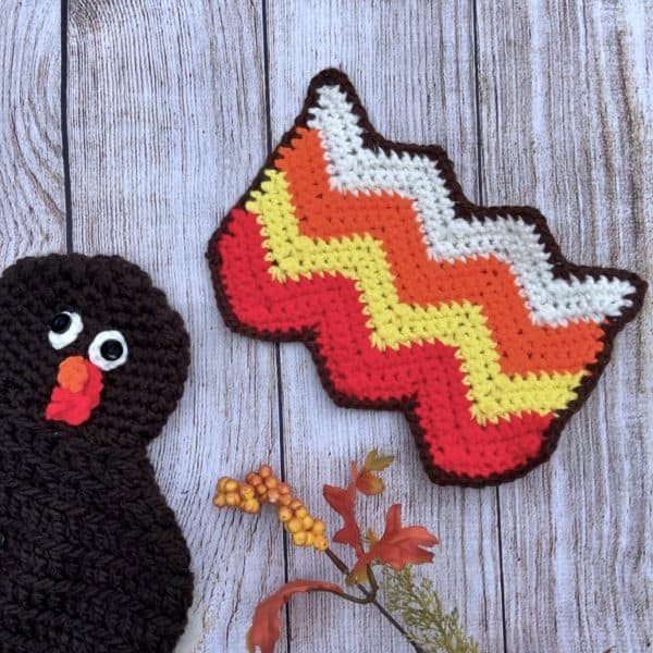 Wacky Waddles Turkey Hat a free crochet pattern