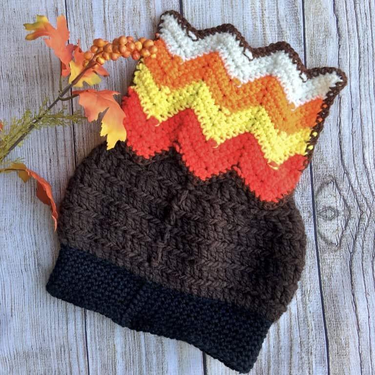 Wacky Waddles Turkey Hat a free crochet pattern
