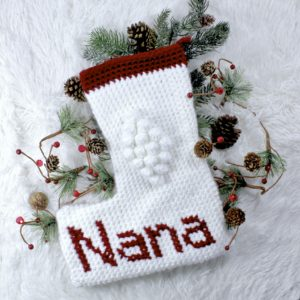 Crochet Christmas Stocking free pattern roundup
