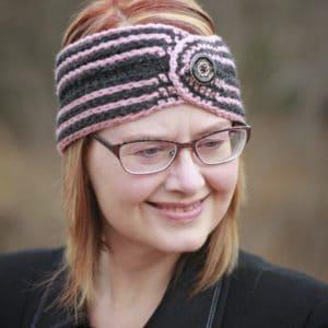 Fast Track Head Wrap Ear Warmer free crochet pattern