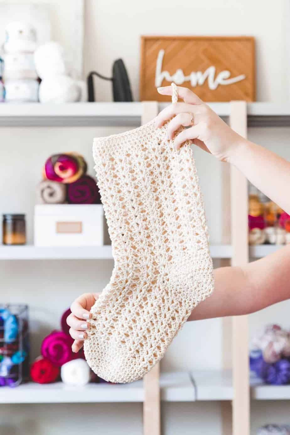Christmas Stocking free crochet pattern roundup