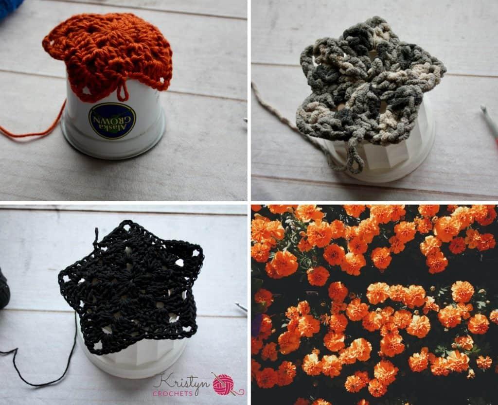Never Ending Star Plant Hanger a free crochet pattern