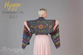 Scheepjes Hygge Wrap is a free crochet pattern by Kirsten Ballering