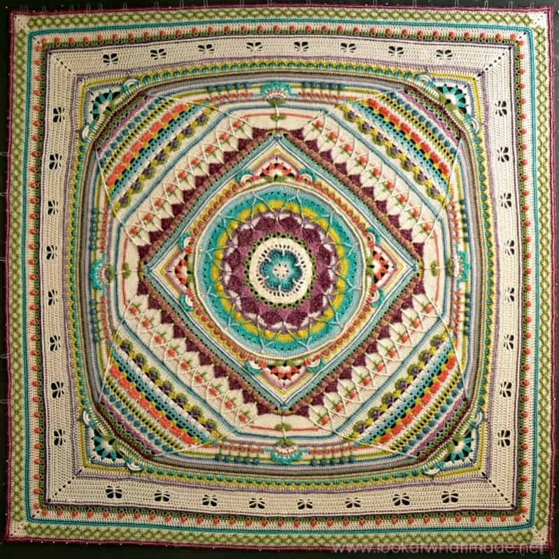 Sophie's Universe Free Crochet Pattern by Look at What I Made