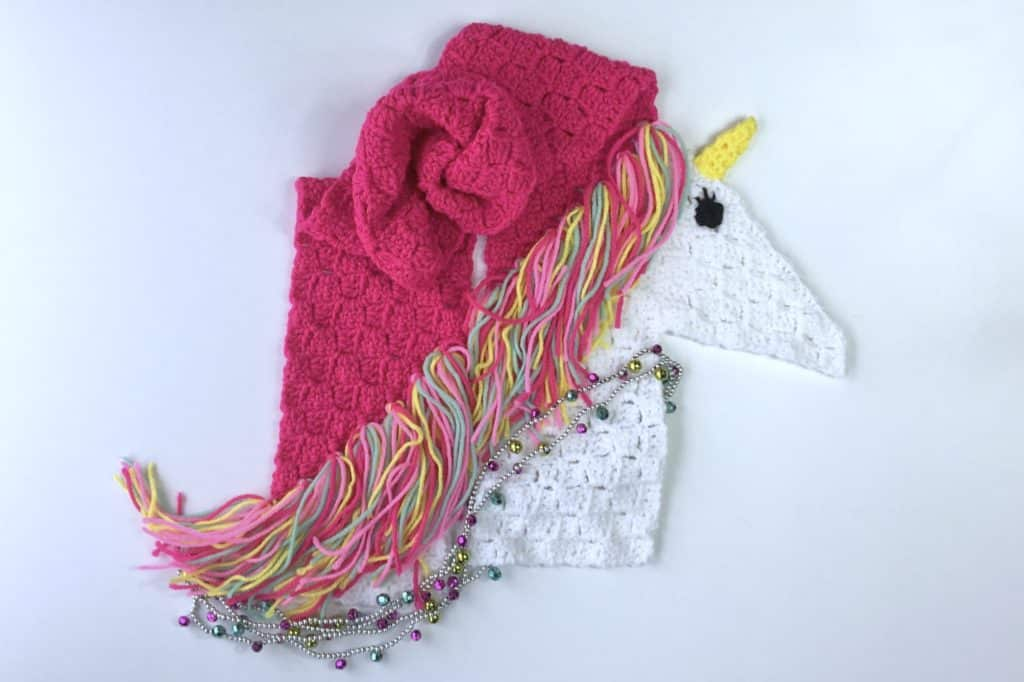 Unicorn C2C Scarf Video Tutorial