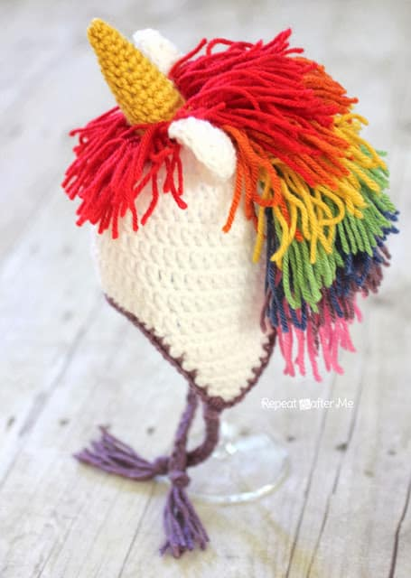 Unicorn Hat by Repeat Crafter Me