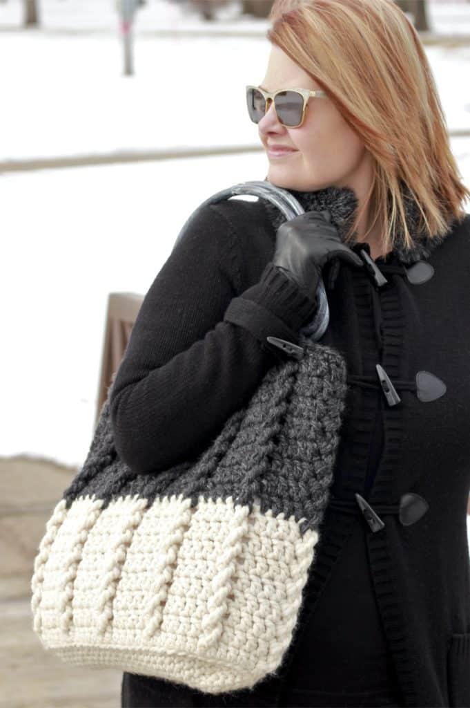 crochet tote bag pattern free