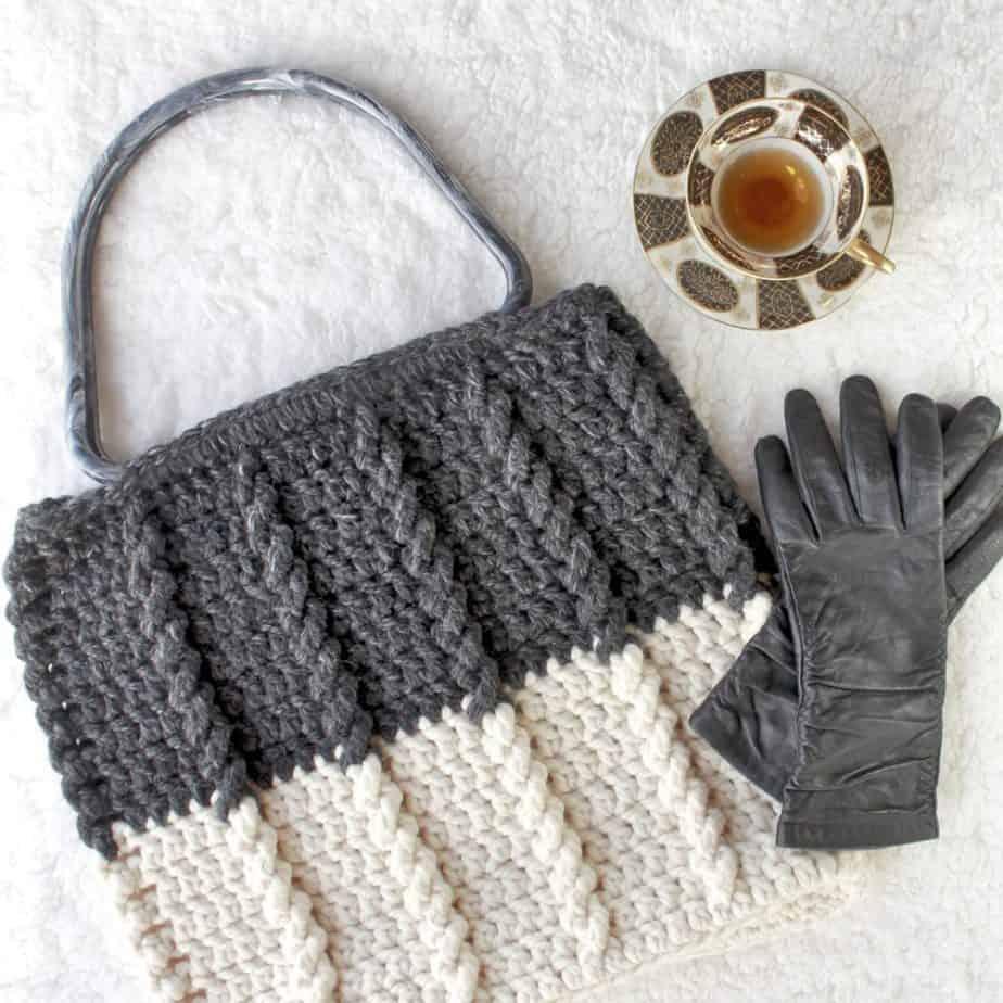 Bewitching Braids Bag Free Crochet Pattern