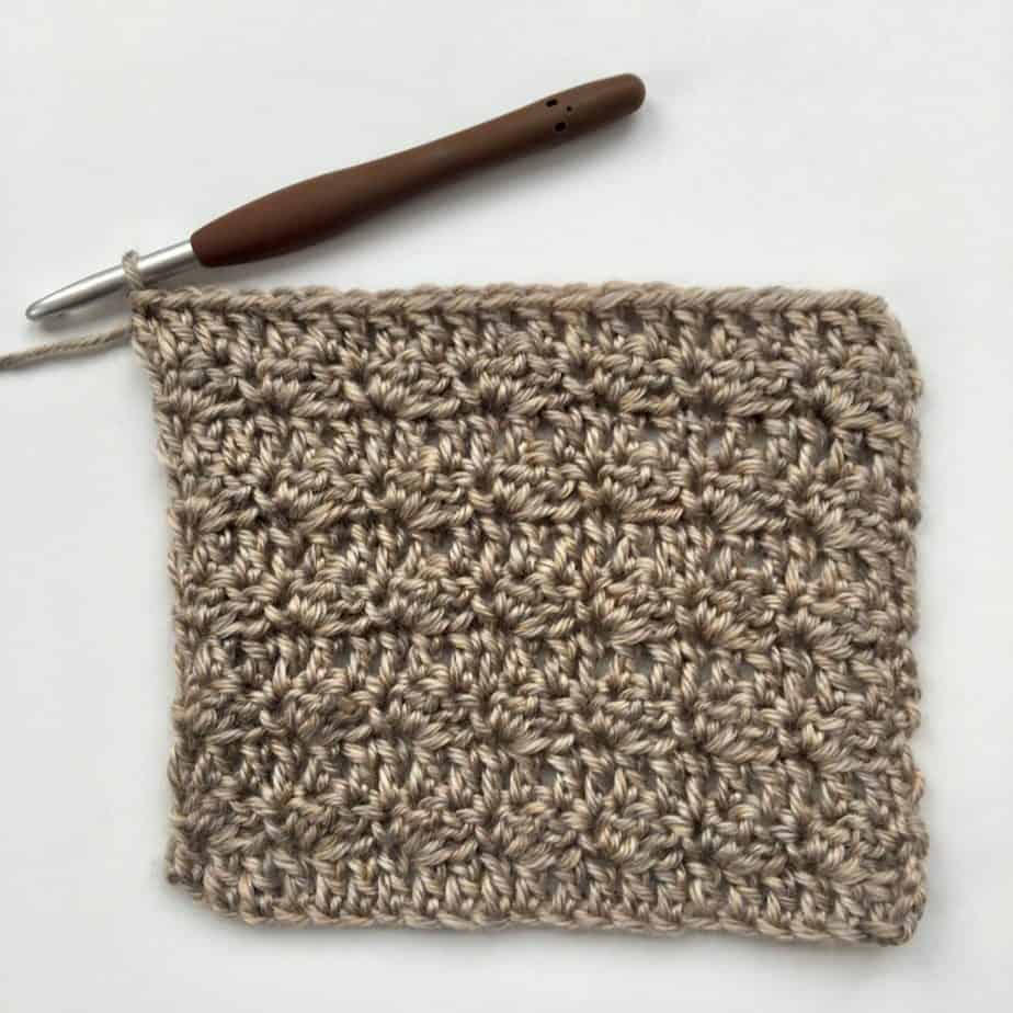 Silt Crochet Stitch Photo & Video Tutorial