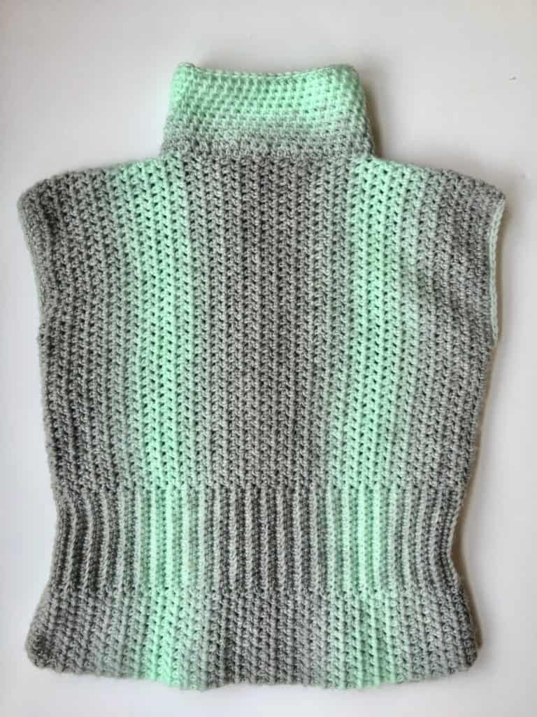 Simply Sophisticated Scarfie Sweater free crochet pattern complete video tutorial
