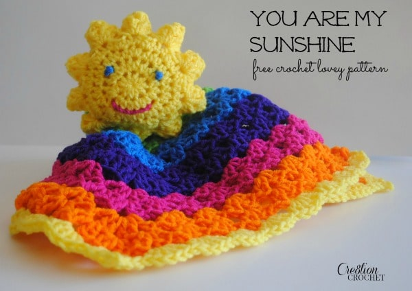 You are My Sunshine crochet pattern by Cre8tion Crochet