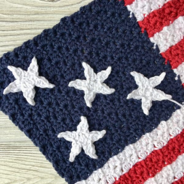 Stars Free Crochet Pattern Photo & Video Tutorial
