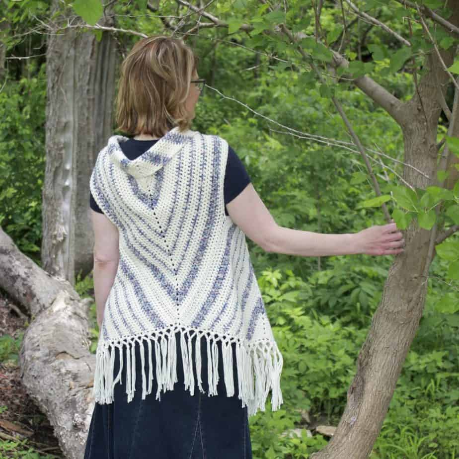 Boho Vest Triangle Trio Free Crochet Pattern - Nana's Crafty