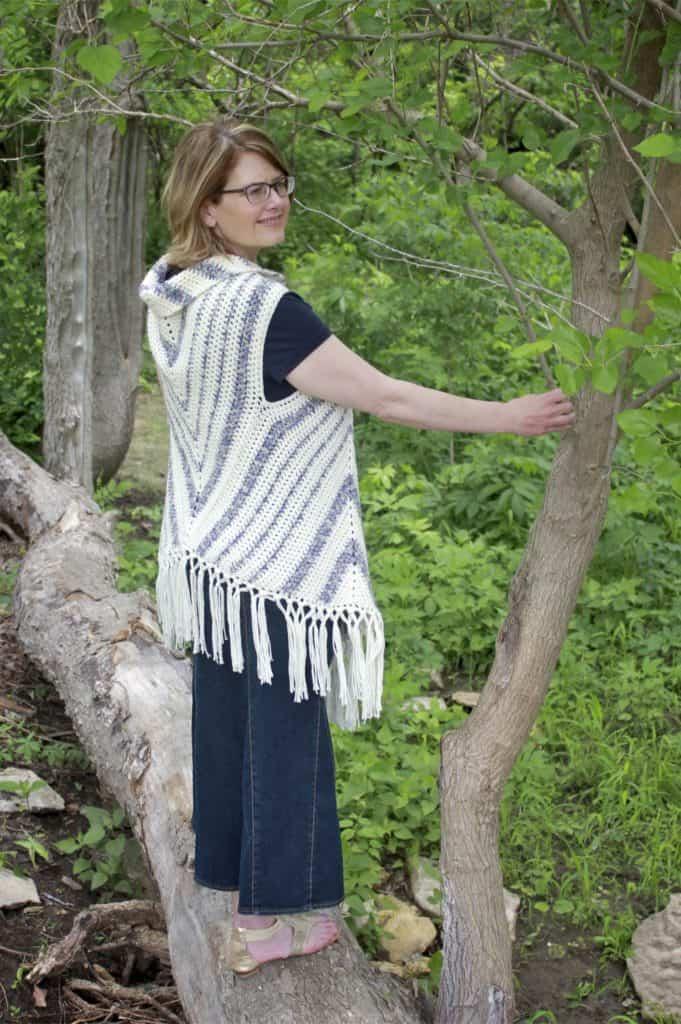 Boho Vest Triangle Trio Free Crochet Pattern