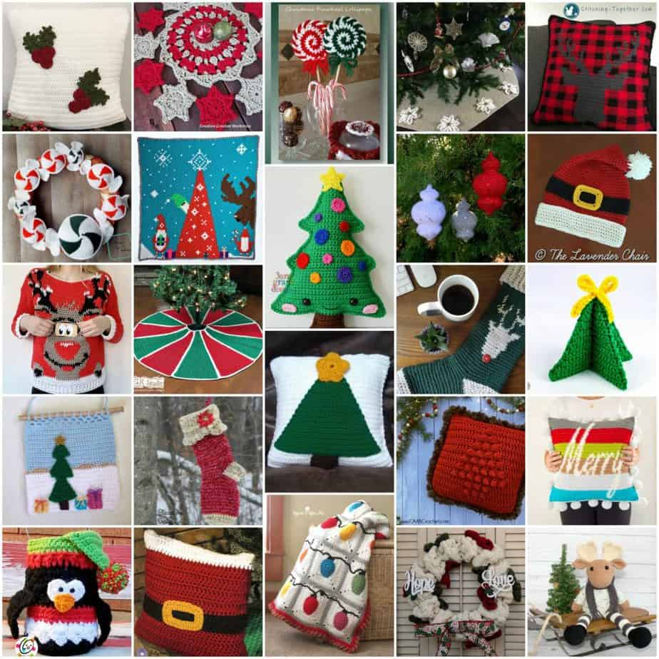 Christmas in July Free Crochet Pattern Roundup