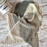 Desert Sands Scarf easy one Caron Cake free crochet pattern video tutorial
