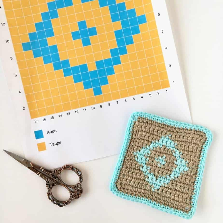 Tapestry Crochet Complete Photo and Video Tutorial