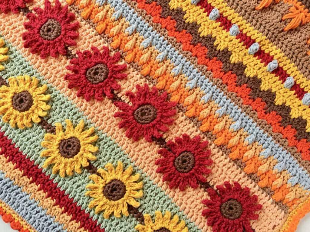 Autumn Rhapsody Blanket CAL Announcement free crochet pattern