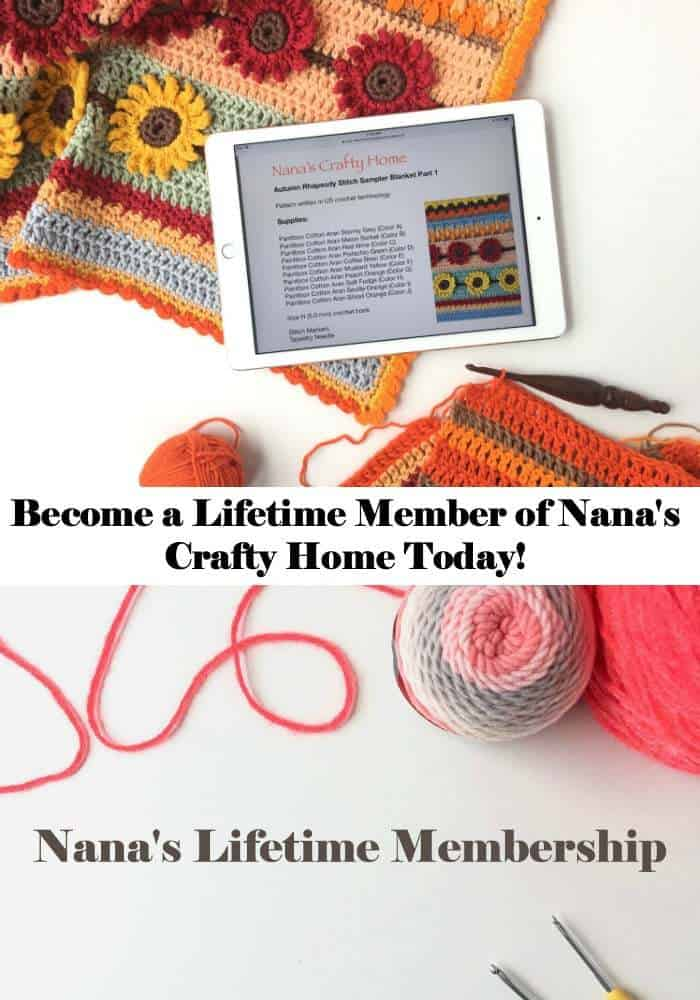Lifetime Membership at Nana's Crafty Home