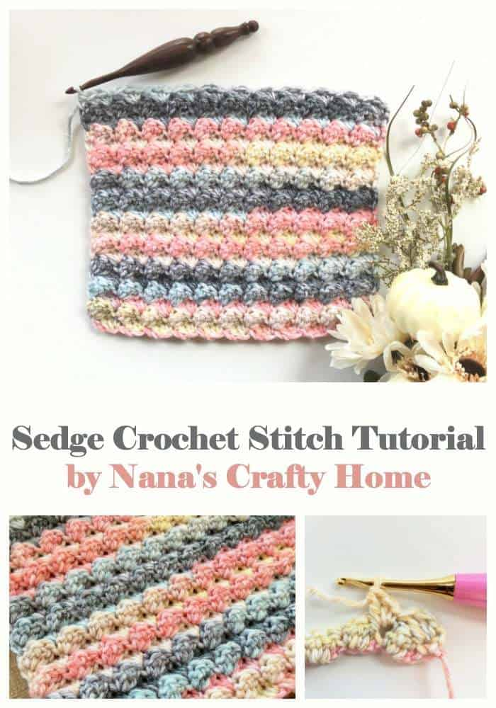 Sedge Crochet Stitch Tutorial