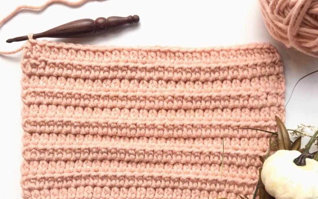How to Crochet Herringbone Half Double Crochet Stitch (Hhdc) Video Tutorial