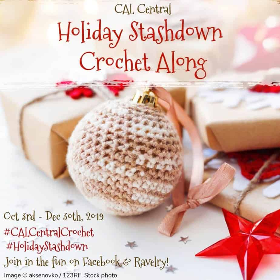 Holiday Stashdown CAL Painted Desert Triangle Scarf free crochet pattern