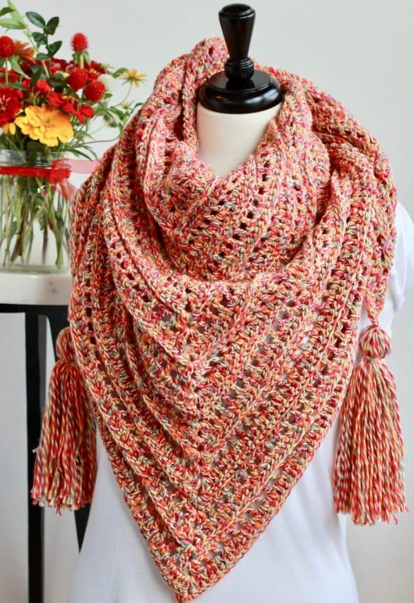 So Long Summer Scarf Free Crochet Pattern